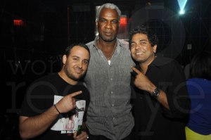 Andy Iriondo, Charles Oakley, & Navin Chatani