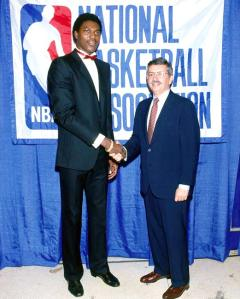 olajuwon draft day